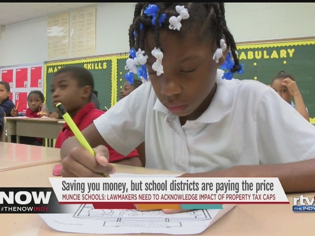 Schools cite Indiana tax-cap law as hurdle for funding