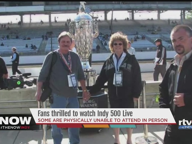 WATCH: Longtime Indy 500 fan with Stage 4 COPD is elated race will be live