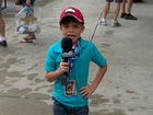 WATCH: Kid reporter Landyn Shaw at the IMS