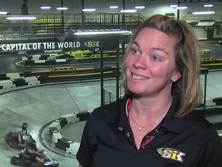 Race day different this year for Sarah Fisher