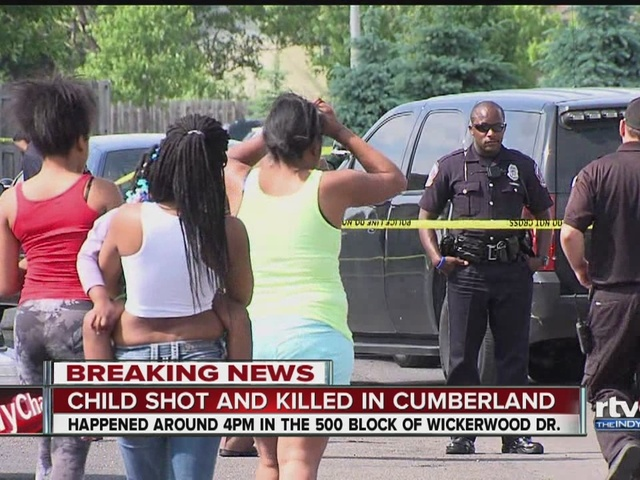 Child shot and killed in Cumberland