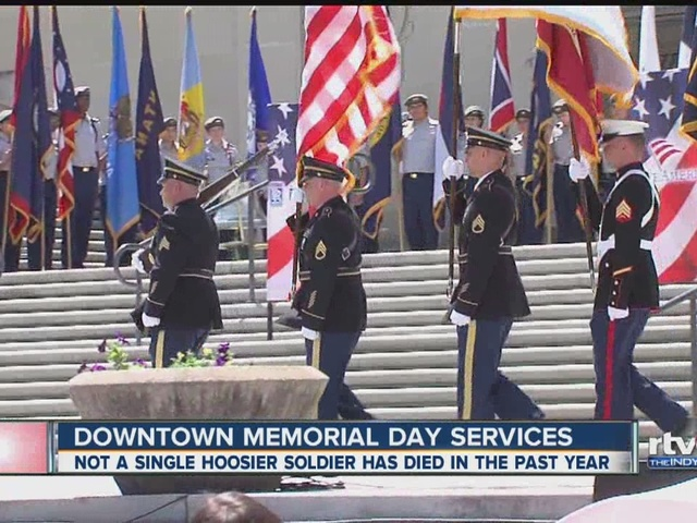 Downtown Memorial Day services