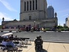 Pence, Hogsett among guests at War Memorial