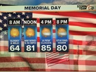 Memorial Day: Summer warmth and sunshine