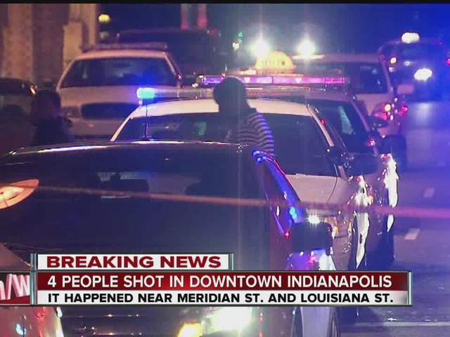 Several people detained after 4 men injured in shooting outside of…