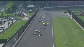 VIDEOS: Relive the passes, crashes from Indy 500