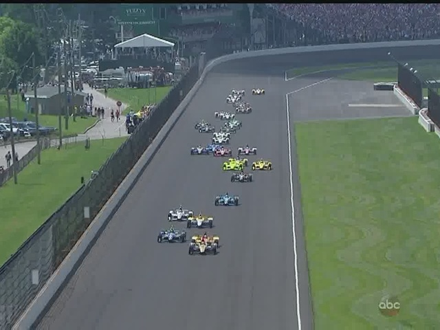 2016 Indianapolis 500 - Start of the race