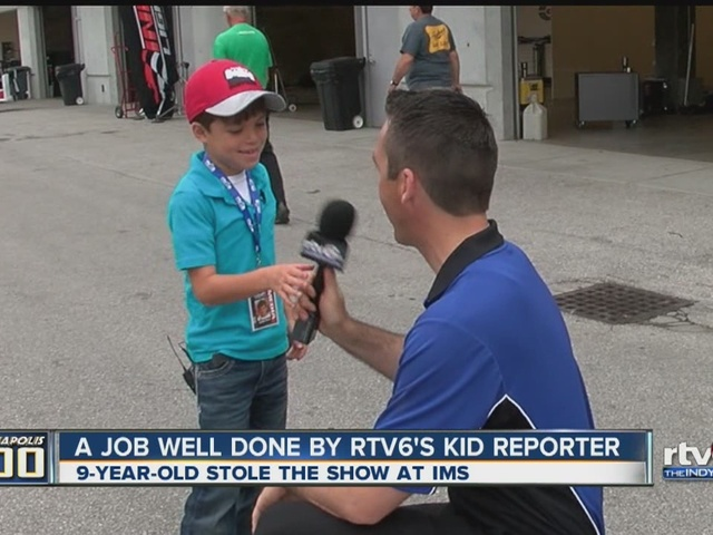 A job well done by RTV6's kid reporter