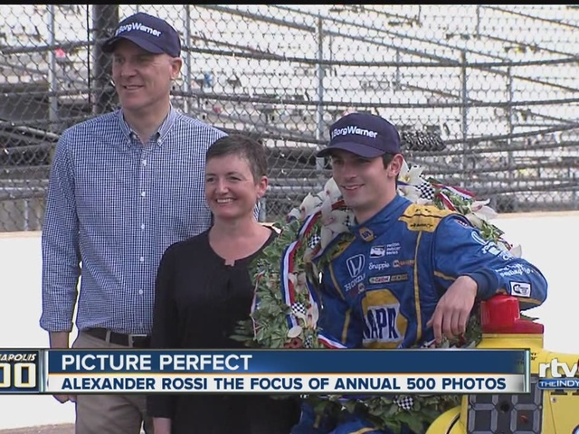 Alexander Rossi returns to track for victory photos