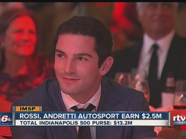 Alexander Rossi wins $2.5M for win at Indy 500