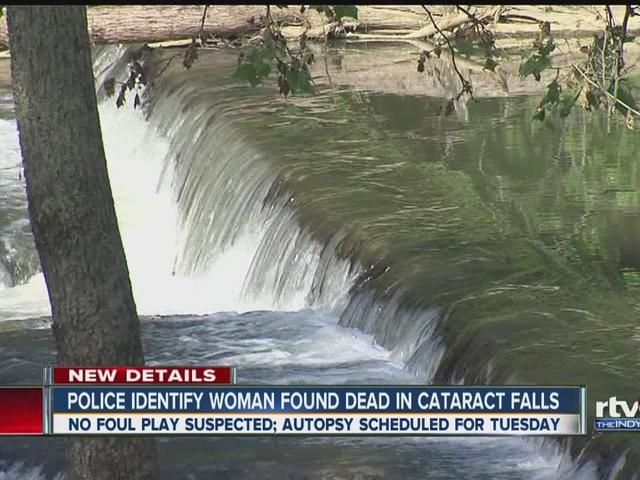 Police identify woman found dead in Cataract Falls
