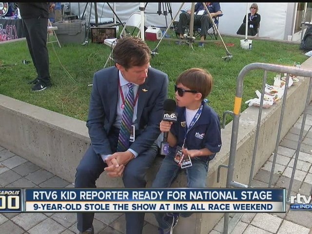 RTV6 kid reporter ready for national stage