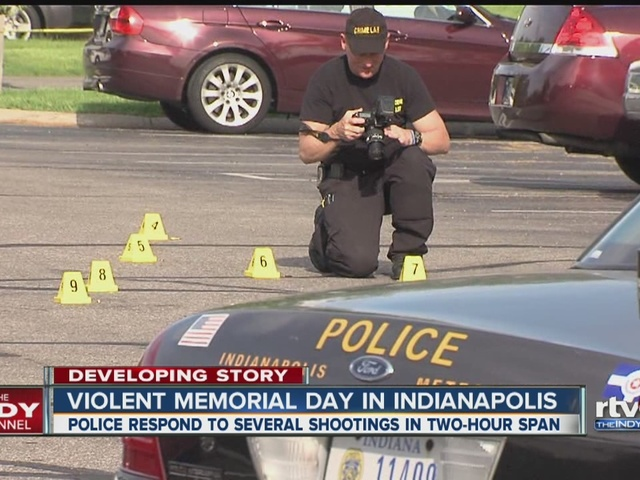 Violent Memorial Day in Indianapolis