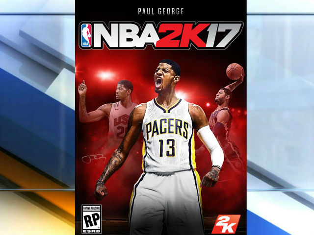 Paul George Selected as the Cover Star for 'NBA 2K17'