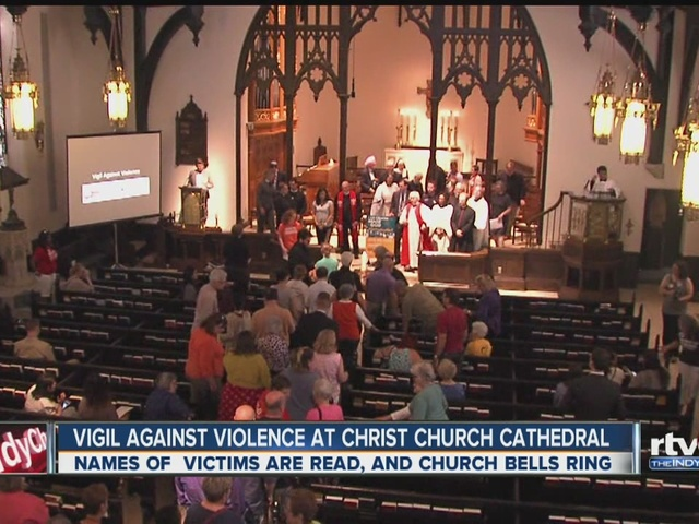 Christ Church Shooting Hd: Indy Religious Leaders Honor Orlando Shooting Victims