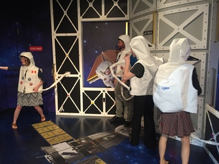 Explore space at the Children's Museum of Indy