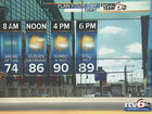 Forecast: Yet another 90-degree day in store