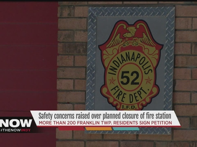 Indianapolis city-county councilor rallies to keep fire station open