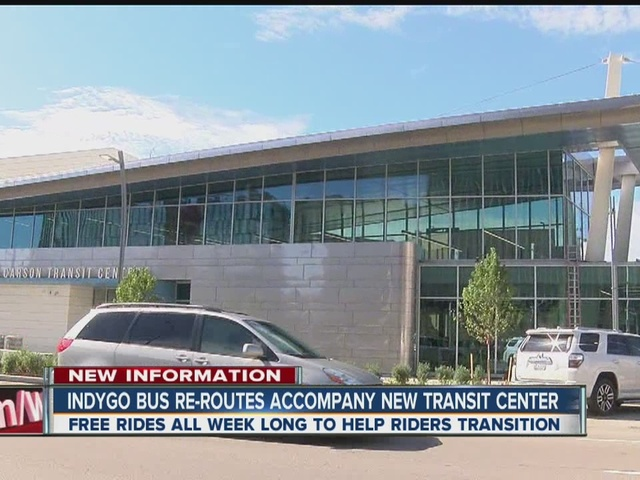 IndyGo bus re-routes accompany new transit center