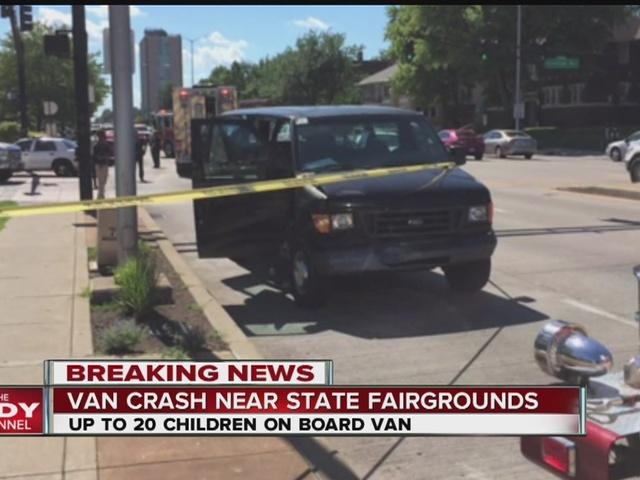 More than a dozen involved in crash near State Fairgrounds