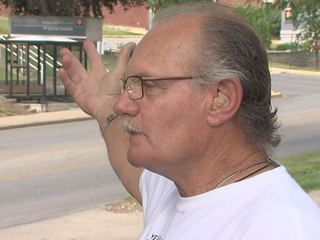 Man confronts sex offender with pipe wrench