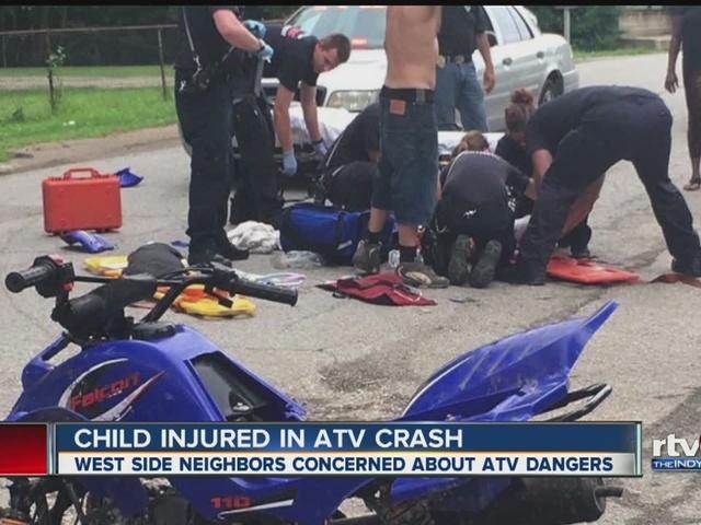 Child Critically Injured In Atv Vs Car Crash