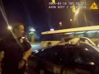 WATCH: Pokemon Go player crashes into police car
