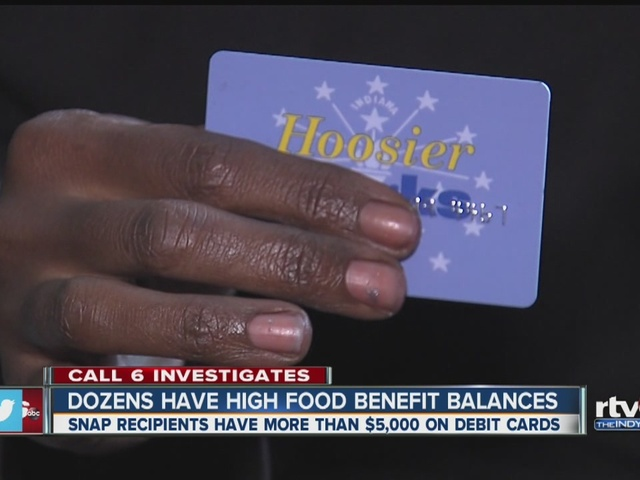 Dozens have high food benefit balances