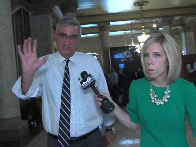 Lt. Gov. Eric Holcomb announces bid to be GOP gubernatorial candidate