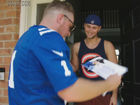 WATCH: McAfee surprises Colts fans with tickets