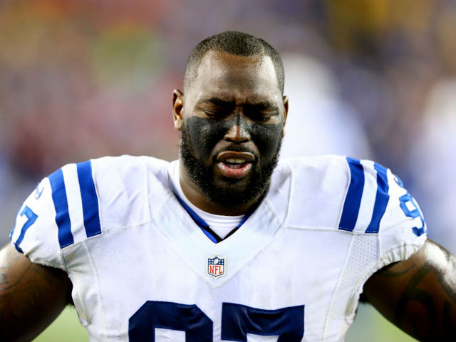 Colts DL Jones gets 4-game ban for PEDs