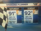 ALERT: Weekend Heat Index 100+