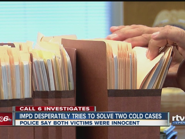 IMPD desperately trying to solve two cold cases