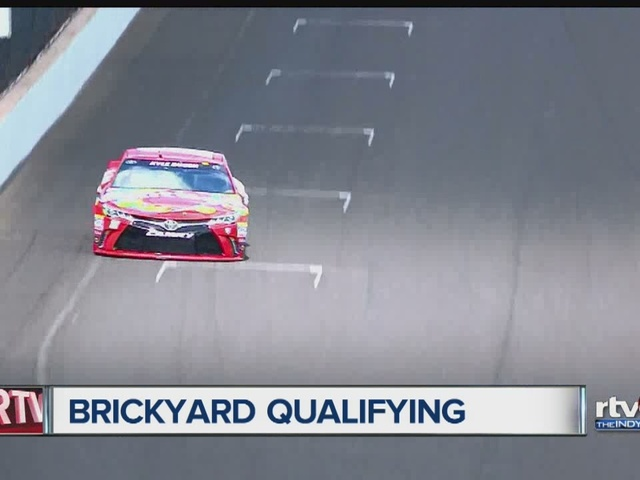 Kyle Busch wins pole at 2016 Brickyard 400