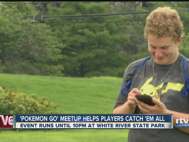 Pokemon Go meetup helps players catch 'em all