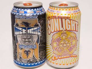 Sun King to sell cans in grocery stores Monday