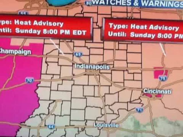 Heat Advisory until 8 PM