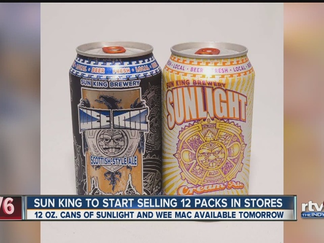 Sun King Brewery to expand to sell cans in stores