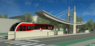 LOOK: Renderings for new Red Line bus stops