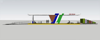 VOTE: Renderings of Red Line bus stops