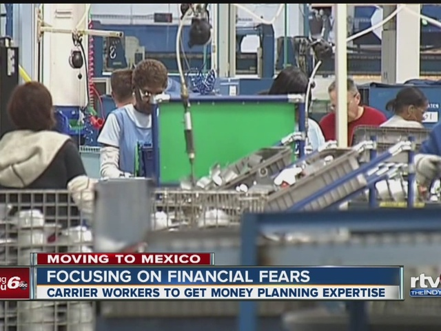 Carrier workers to get money planning expertise