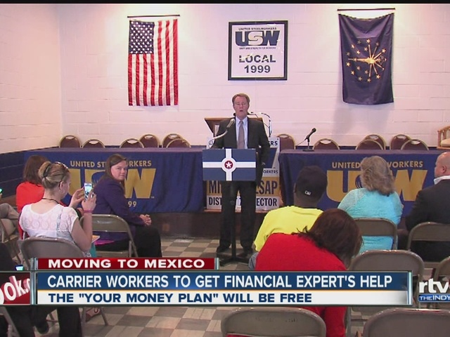 Carrier workers to get financial help