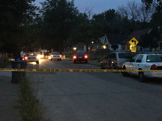 SCENE PHOTOS: 3 people shot in violent morning