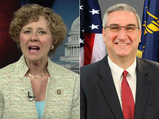 GOP Gov. race a toss-up between Brooks, Holcomb
