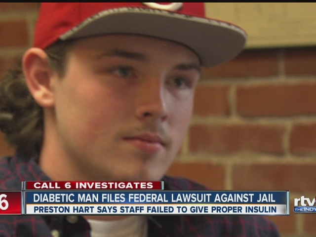 Diabetic man files federal lawsuit against Henry County Jail