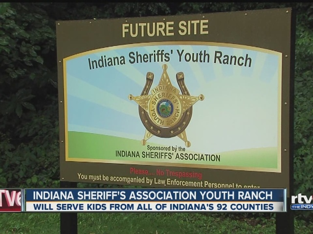 Indiana Sheriff's Association Youth Ranch to serve kids from across state