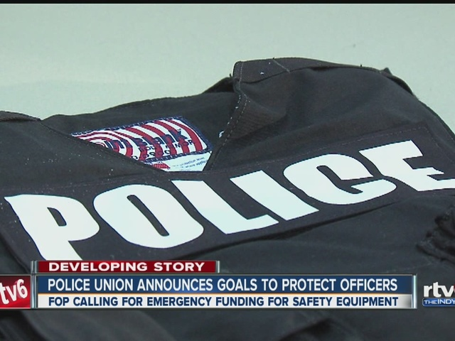 Police union calls for $3.2 million to protect officers