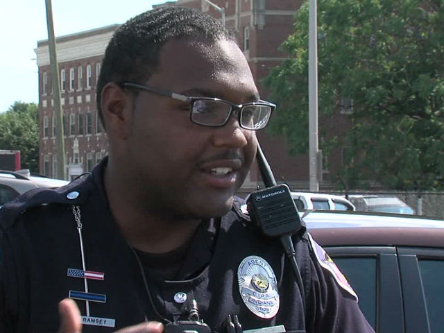 3f982cc940 INDIANAPOLIS IN July 28 2016 -- When an Indianapolis Metro police officer  was shot by a fleeing suspect Monday night