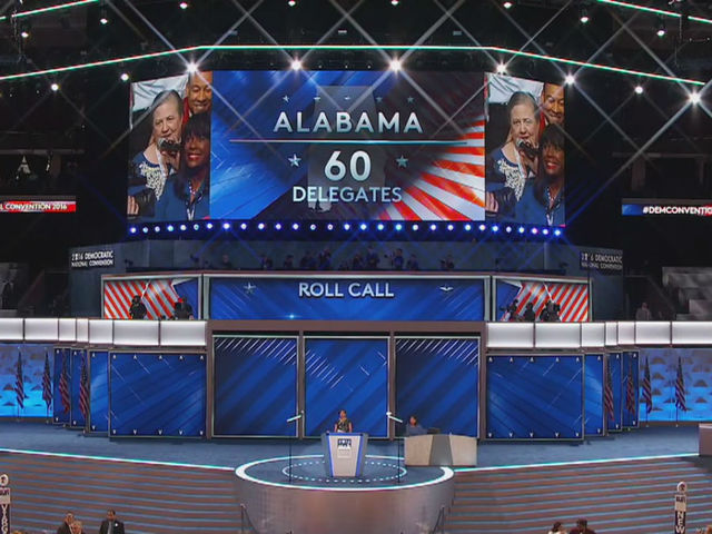 LIVE: Nomination process underway at DNC