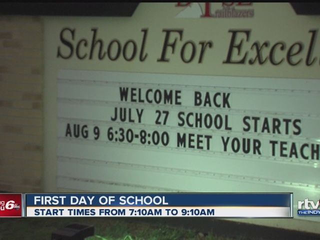 Back to School: When do central Indiana schools go back?